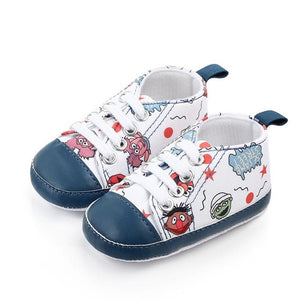 Anti Slip Canvas Baby Sneakers Shoes
