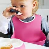 Load image into Gallery viewer, Cute Silicone Lunch Bibs