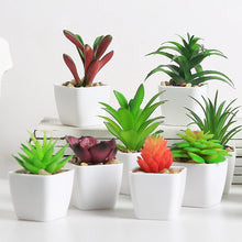 Load image into Gallery viewer, Artificial Succulents with Pot Home Decoration Accessories
