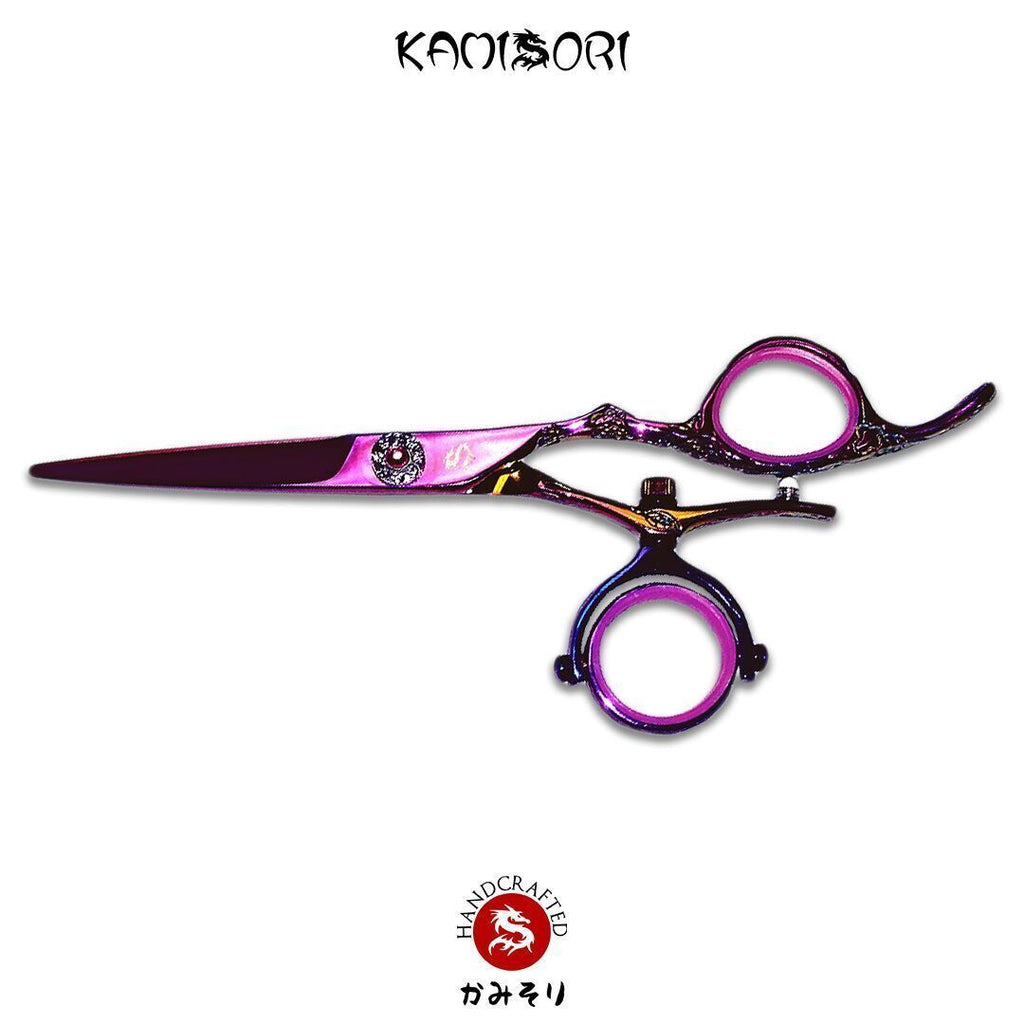 KAMISORI Jewel Double Swivel Professional Haircutting Shears