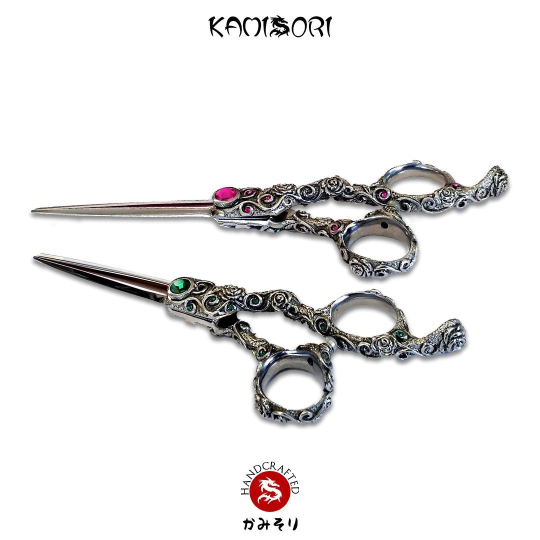 KAMISORI Rosa & Jade Professional Haircutting Shears (1388750176342)