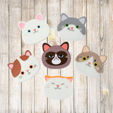 Product photo for all Cute Cat Coaster