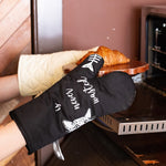 Time Spent With Cats Is Never Wasted - Cat Oven Mitts - Meowtropolitan Trading