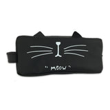 Cartoon Cat Cosmetic Bag - Meowtropolitan Trading