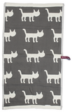Cat Life Everywhere Face Towel - Meowtropolitan Trading