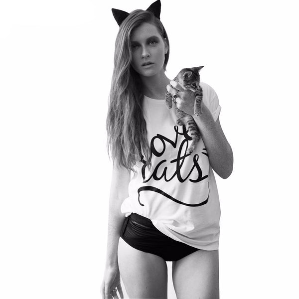Love Cats Tee - LivePurrfect