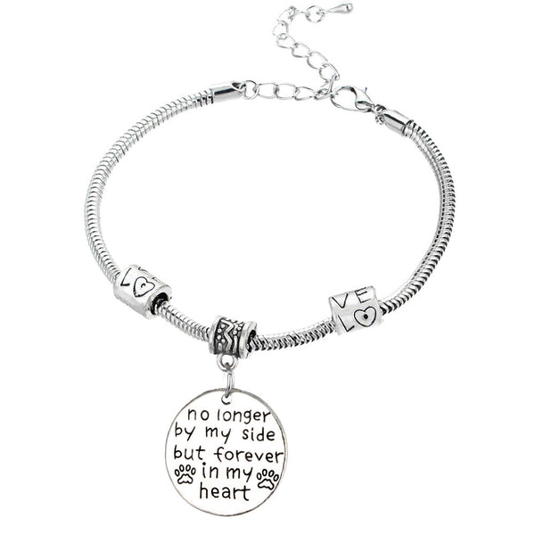 Memorial Bangle Bracelet - LivePurrfect