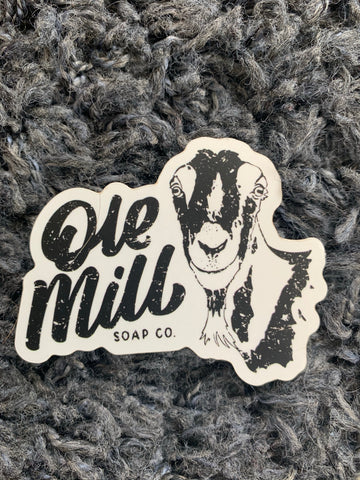 Ole Mill Soap sticker