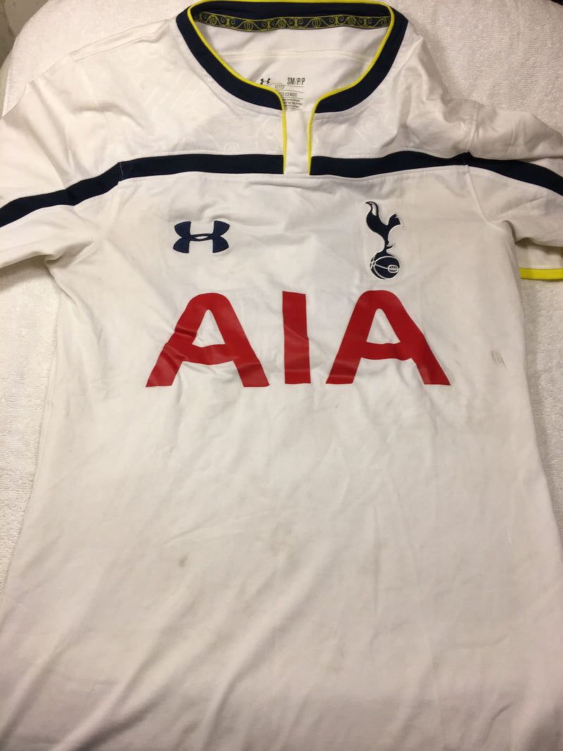 under armour tottenham hotspurs shirt small replica jersey 2014