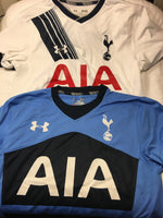 2 under armour tottenham hotspurs shirt med replica jersey 2016