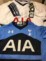 2 under armour tottenham hotspurs shirt large replica jersey 2016