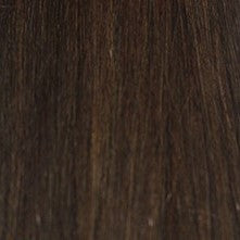 "24"" V-Tip Fusion Luxury EUROPEAN Virgin Remy Extensions  STRAIGHT - Colour #002 - Darkest Brown"