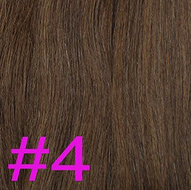 "20"" Micro Loop Hair Extensions EUROPEAN STRAIGHT - Colour #004 - Chocolate Brown"