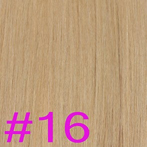 "24"" V-Tip Fusion Hair Extensions EUROPEAN STRAIGHT - Colour #016 - Golden Blonde"