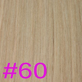"Weft 20"" Chinese Hair Extensions WATER WAVE - Colour #060 - Platinum Blonde"
