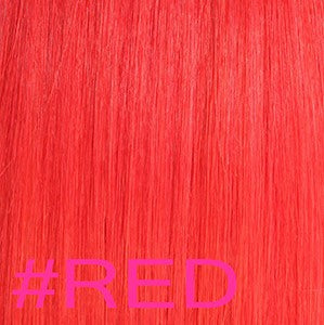 "20"" Micro Loop Hair Extensions EUROPEAN STRAIGHT - Colour #RED - Red"