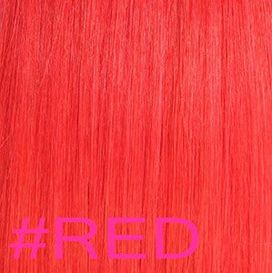 "20"" V-Tip Fusion Hair Extensions EUROPEAN STRAIGHT - Colour #RED - Red"