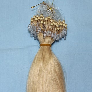 "20"" Micro Loop Hair Extensions EUROPEAN STRAIGHT - Colour #018 - Ash Blonde"