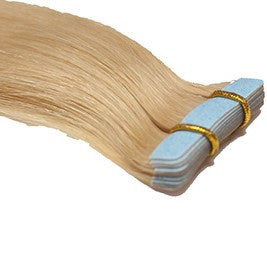"20"" Tape In Extensions EUROPEAN STRAIGHT - Colour #016 - Golden Blonde"