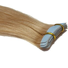 "20"" Tape In Luxury EUROPEAN Virgin Remy Extensions STRAIGHT - Colour #018B - Dark Ash Blonde"
