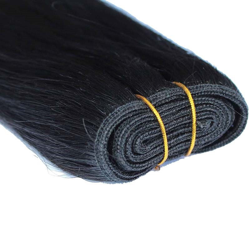 "Weft 20"" Chinese Hair Extensions WATER WAVE - Colour #001 - Jet Black"