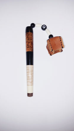 Ebony, Makamong Burl, Maple, Holly