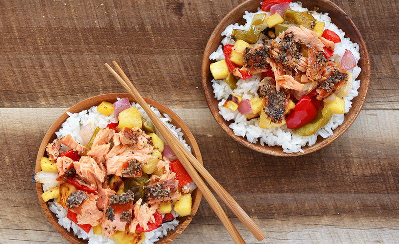 Honey Smoked Salmon® Hawaiian Bowls