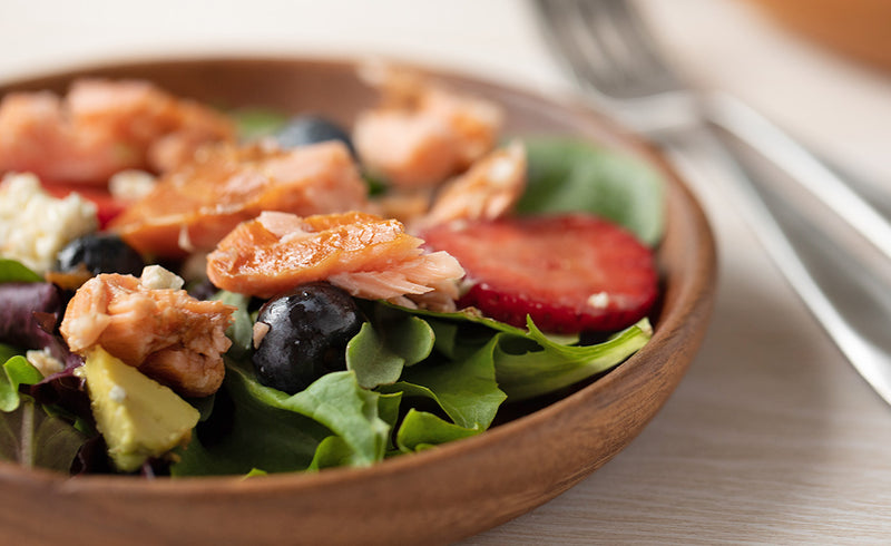 Honey Smoked Salmon® Avocado Salad