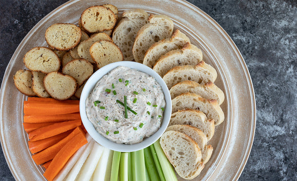 Honey Smoked Salmon Dip