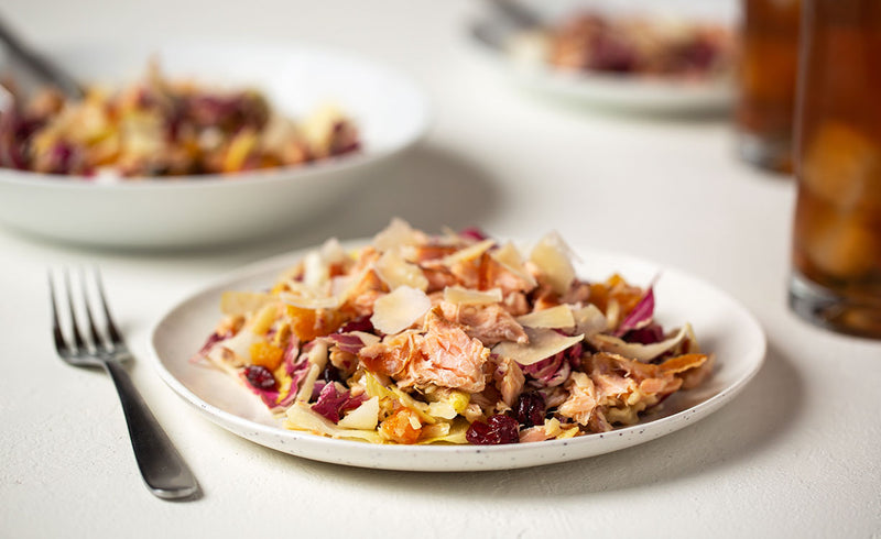 Chicory & Honey Smoked Salmon Salad