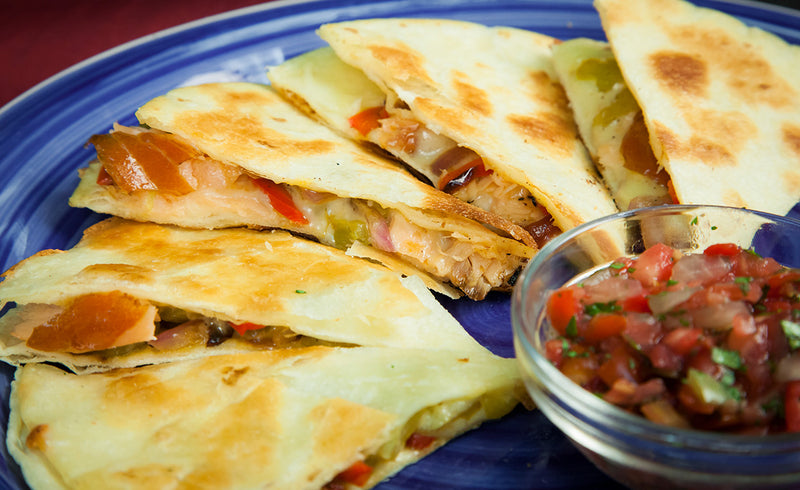 Honey Smoked Salmon® Quesadillas
