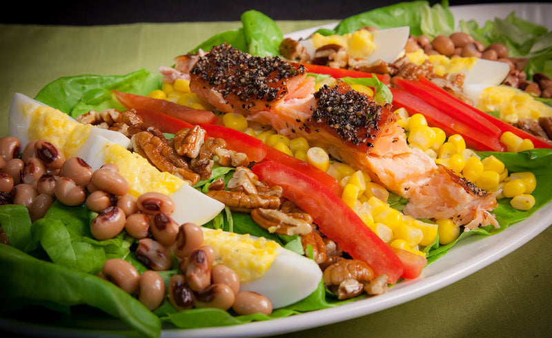 Honey Smoked Salmon® Southern Cobb Salad