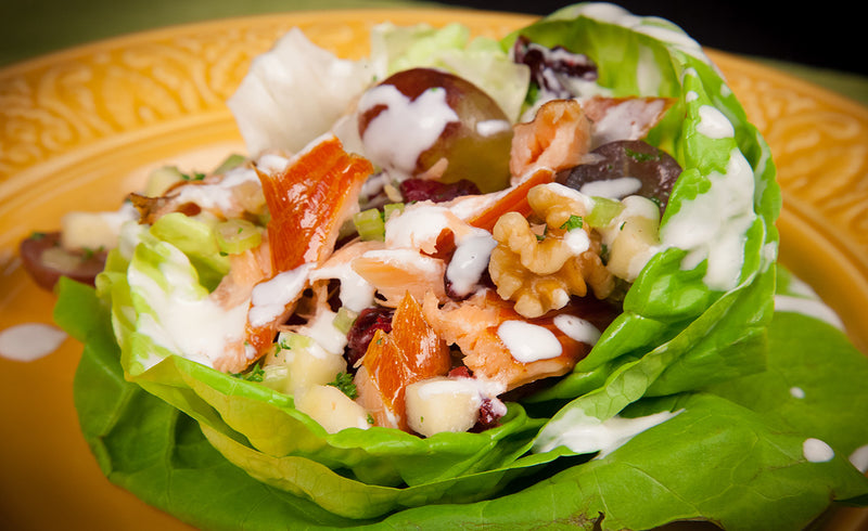 Honey Smoked Salmon® Waldorf Salad