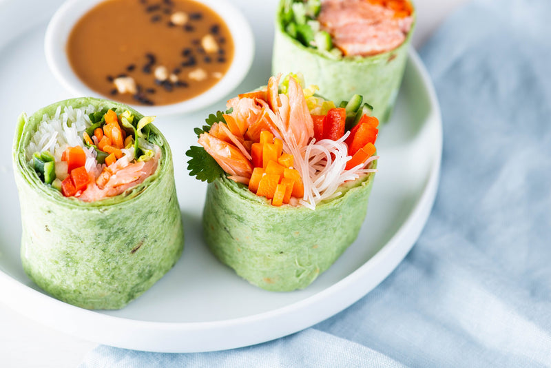 Honey Smoked Salmon® Asian Wrap