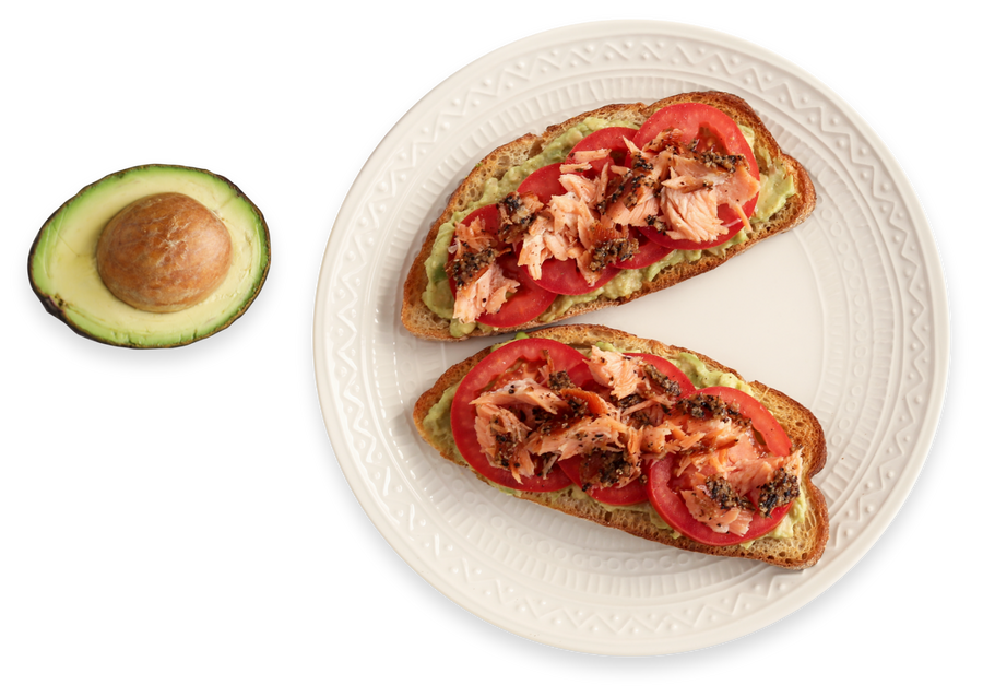 Avocado with Smoked Salmon avocado toast