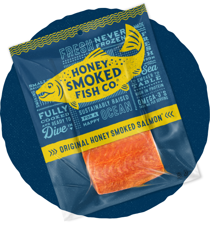 Honey Smoked Original Package with Fillet