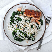 Cracked Pepper Salmon — Four Packages of Whole Sides