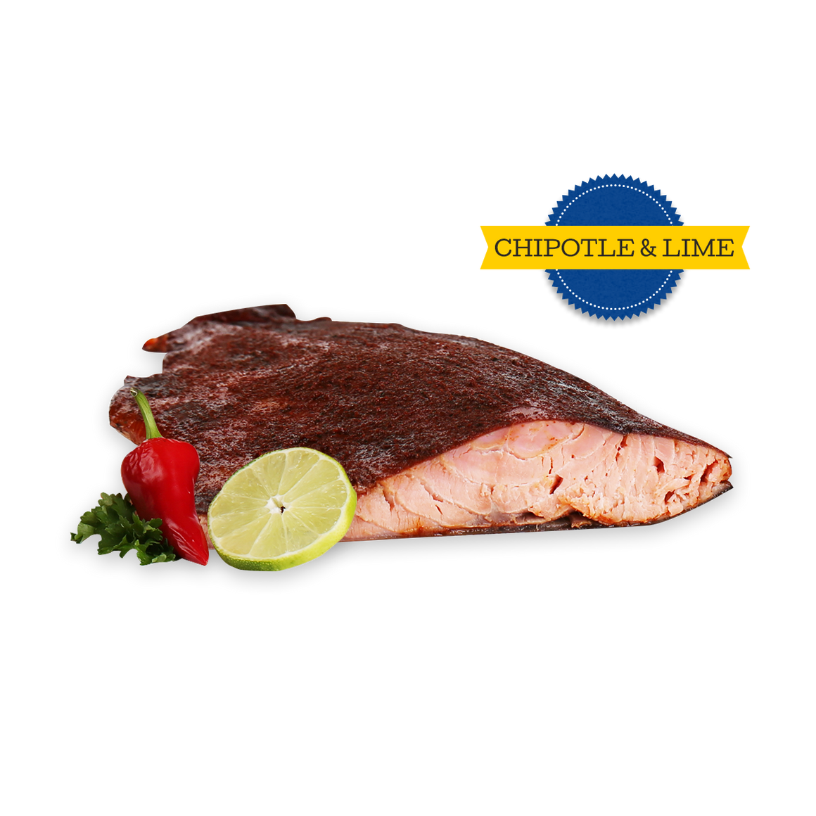 Original and Chipotle & Lime (Salmon Fillets) - 25 lbs