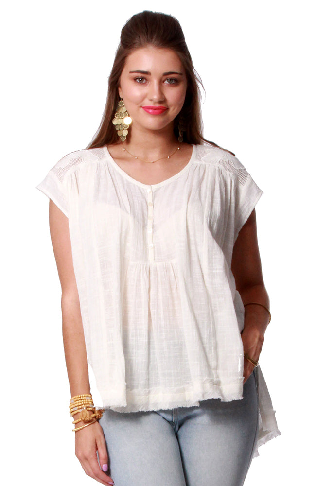 Khadi S/S Top Cotton Crepe