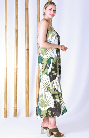 Cascade Dress Paradise Green