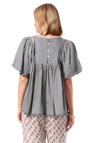 Ceylon Top Grey