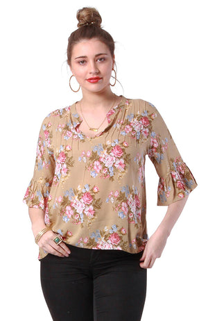 Clara Top Coventry Sand