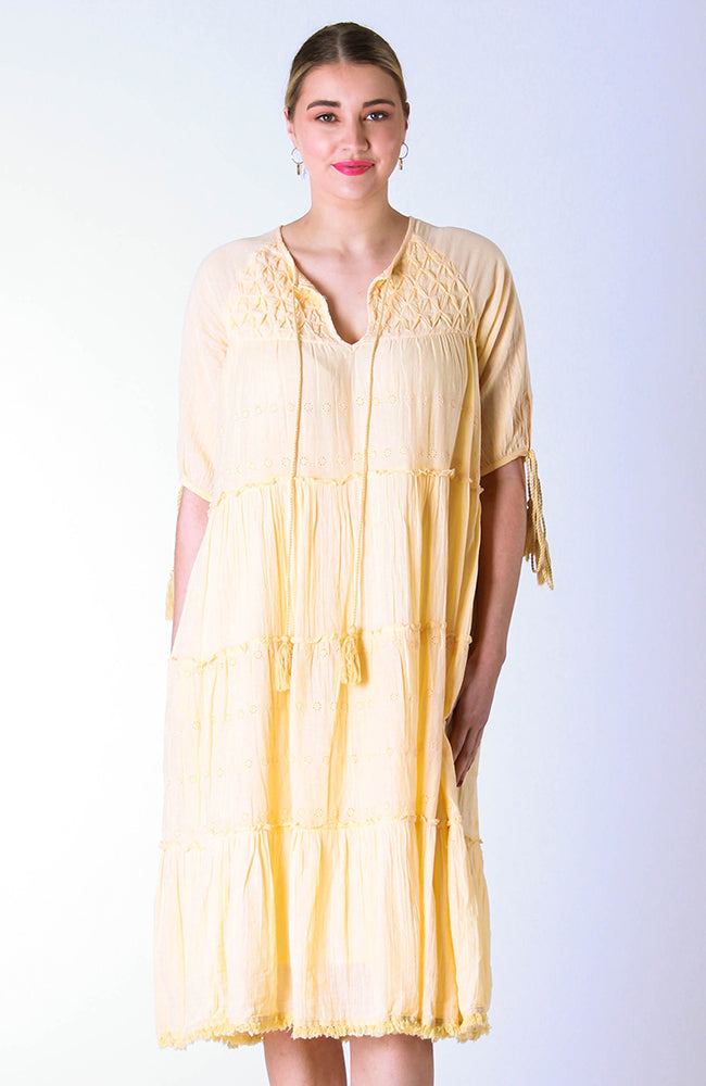 Dandelion Dress Straw