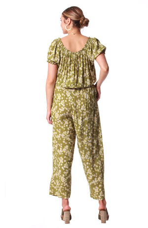 Escape Jumpsuit Spring Olive