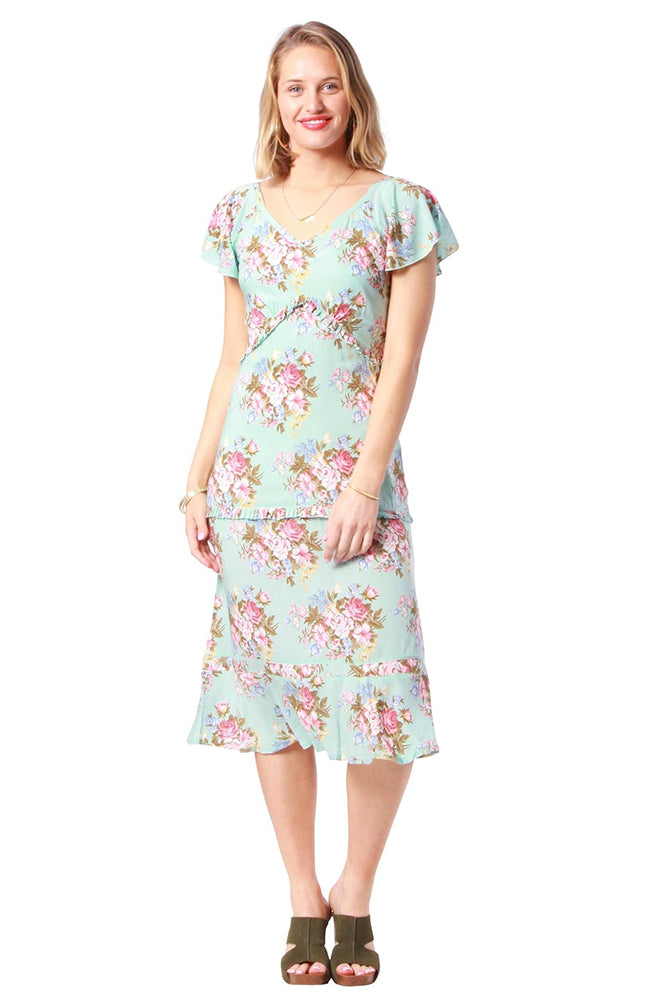 Finch Dress Coventry Blue