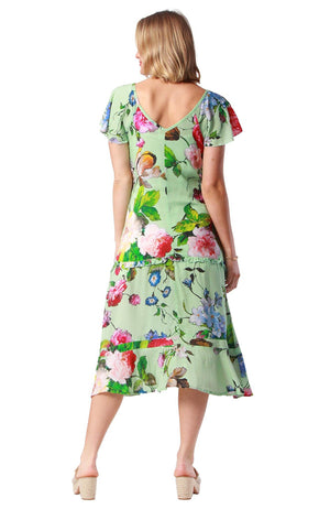 Finch Dress Castle Mint