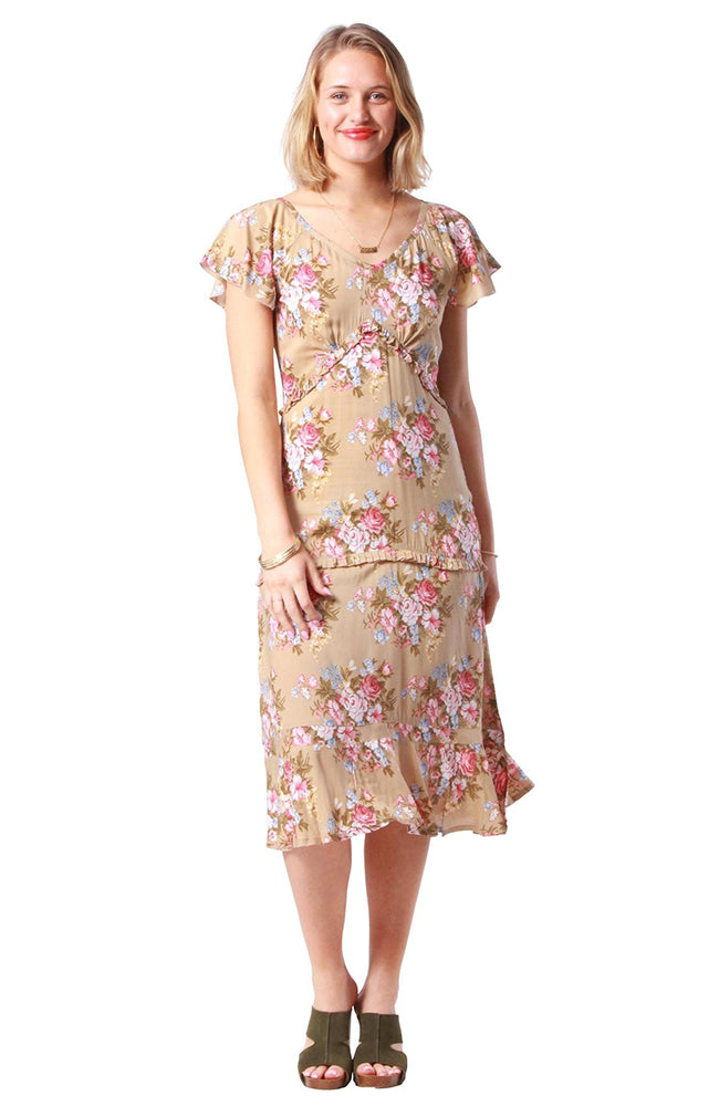 Finch Dress Coventry Sand