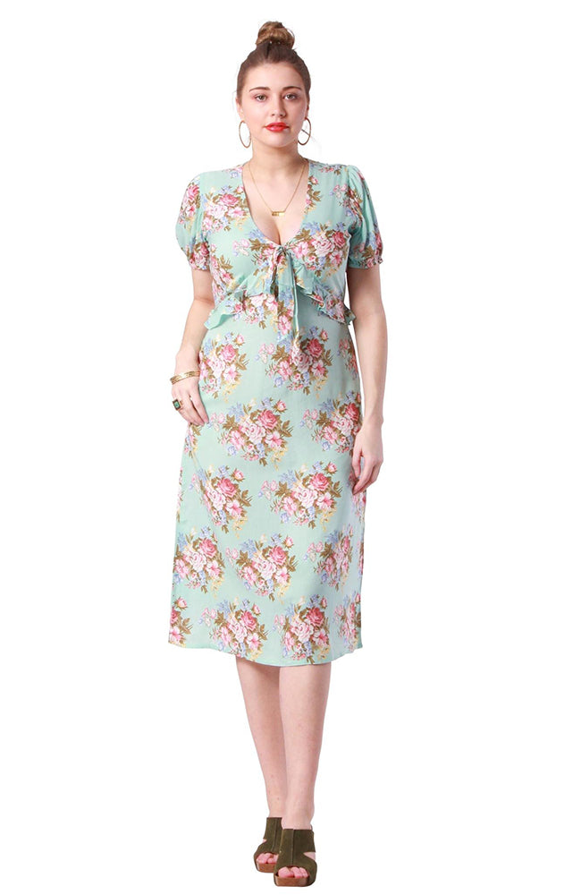 Grace Dress Coventry Blue