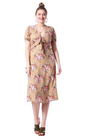 Grace Dress Coventry Sand