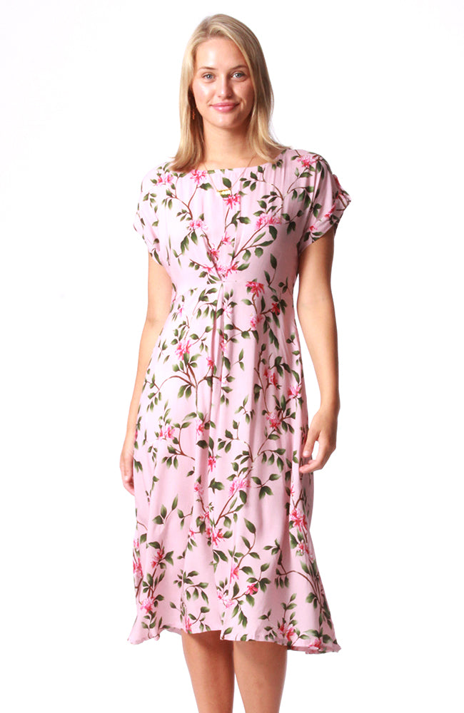 Hayworth Dress Blossoms